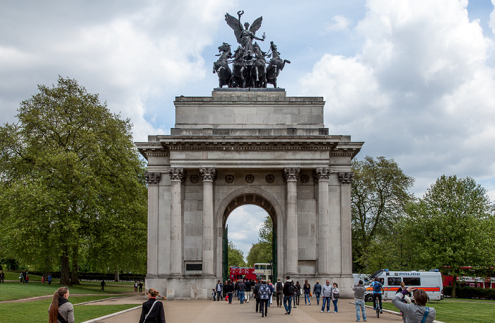 London City of Westminster: Hyde Park Corner - Wellington Arch