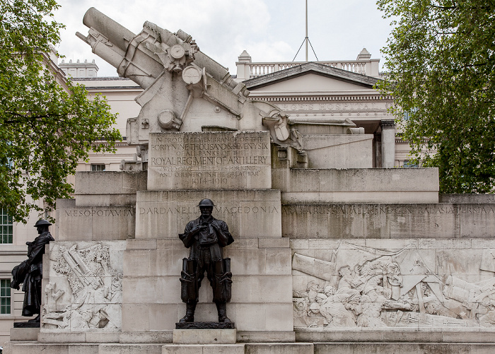 London City of Westminster: Hyde Park Corner - Royal Artillery Memorial