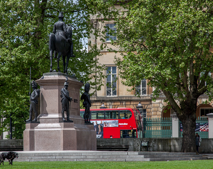 City of Westminster: Hyde Park Corner - Reiterstandbild des Duke of Wellington London