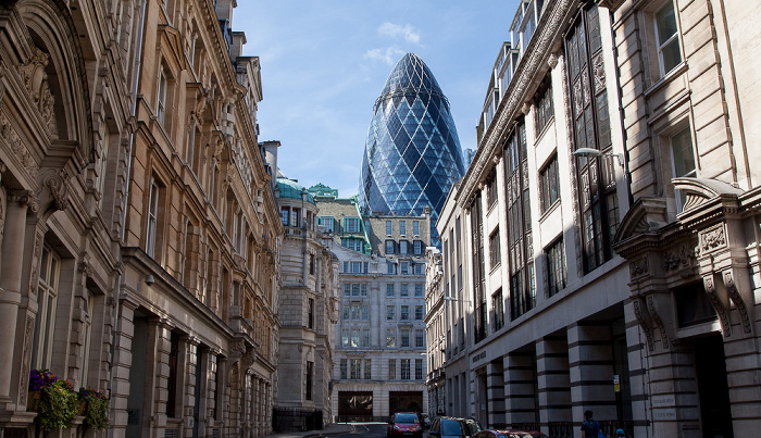 City of London: Lloyd's Avenue 30 St Mary Axe