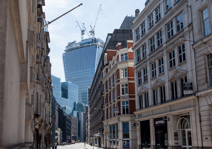 City of London: Fenchurch Street 20 Fenchurch Street Plantation Place