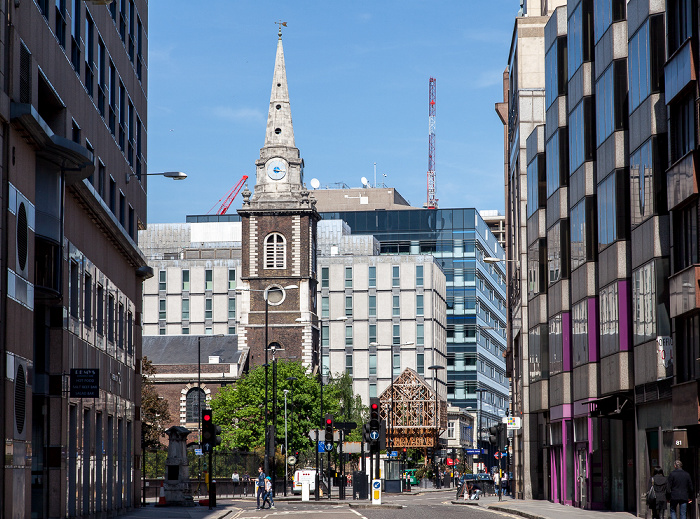 City of London: Aldgate - St Botolph's Aldgate London