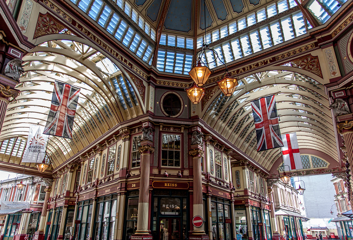 City of London: Leadenhall Market London 2013