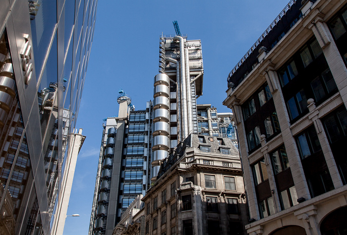 City of London: Leadenhall Street - Lloyd's of London Building London 2013