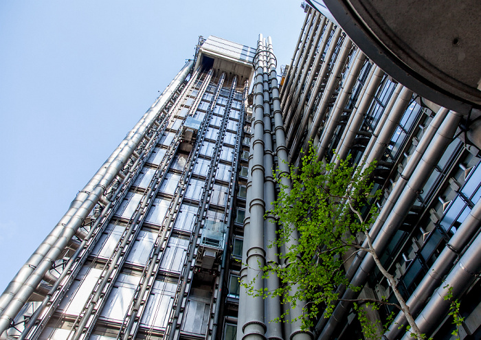 City of London: Lloyd's of London Building London 2013