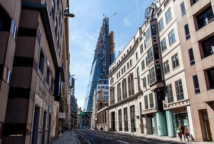 City of London: Leadenhall Street Leadenhall Building St Katharine Cree