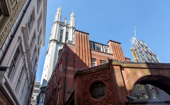City of London Leadenhall Building St Michael (Cornhill)