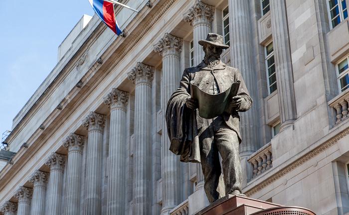City of London: Cornhill - James-Henry-Greathead-Denkmal OJSC VTB Bank