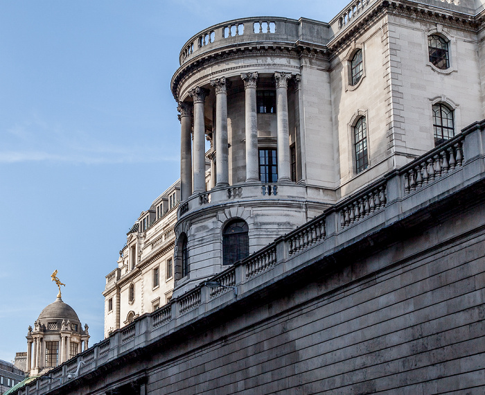 City of London: Prince's Street - Bank of England London