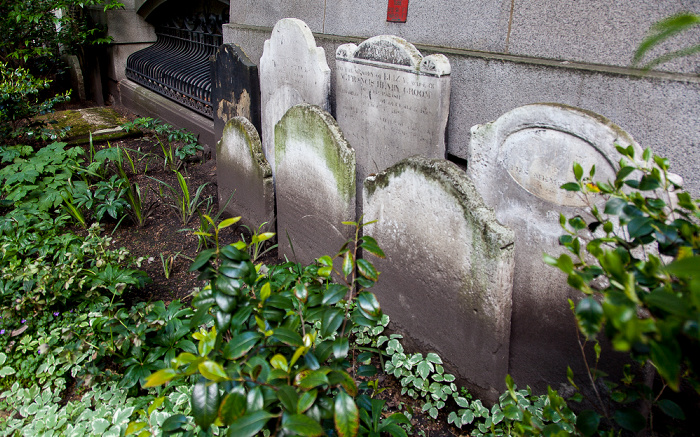 City of London: Postman's Park - ehem. Friedhof