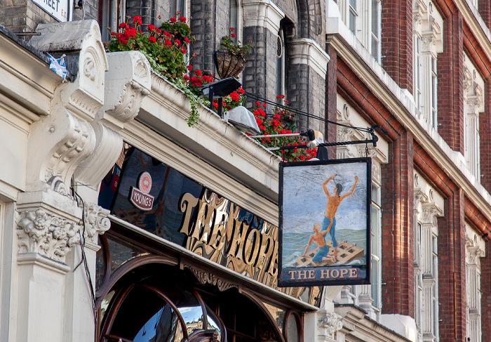 Clerkenwell: Cowcross Street - The Hope London