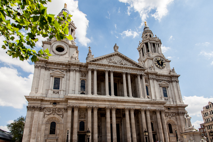 City of London: St Paul's Cathedral London