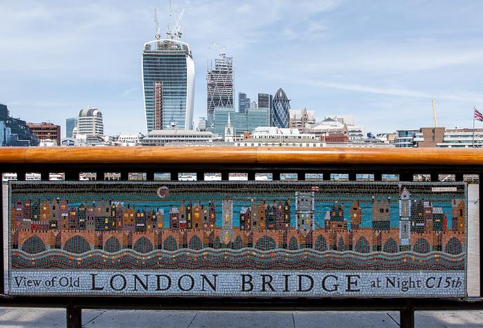 More London Riverside: Standort der ehem. London Bridge 20 Fenchurch Street 30 St Mary Axe Leadenhall Building