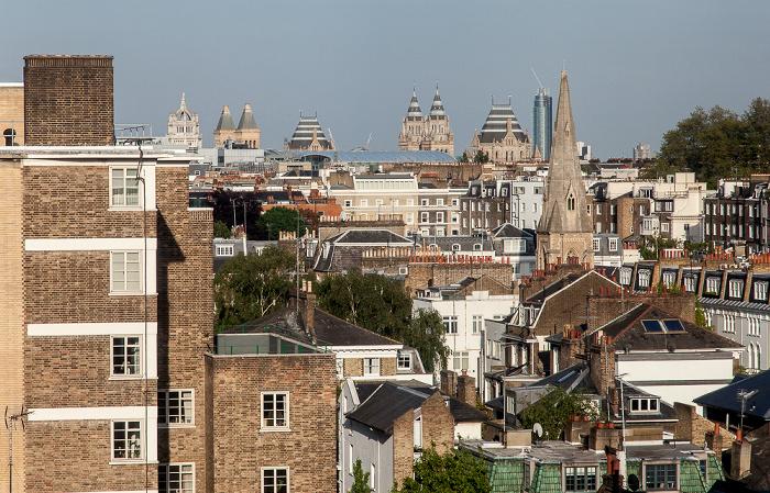 Blick aus dem Copthorne Tara Hotel London Kensington London