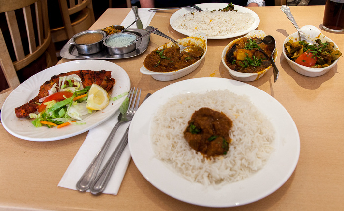 London South Kensington: Hogarth Road - Masala Indian Restaurant