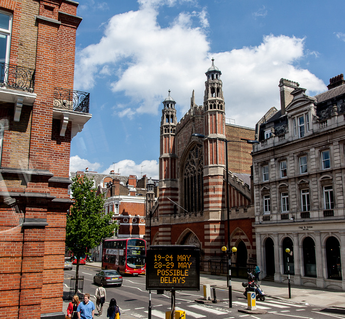 London Chelsea: Sloane Square / Sloane Street Holy Trinity (Sloane Street)