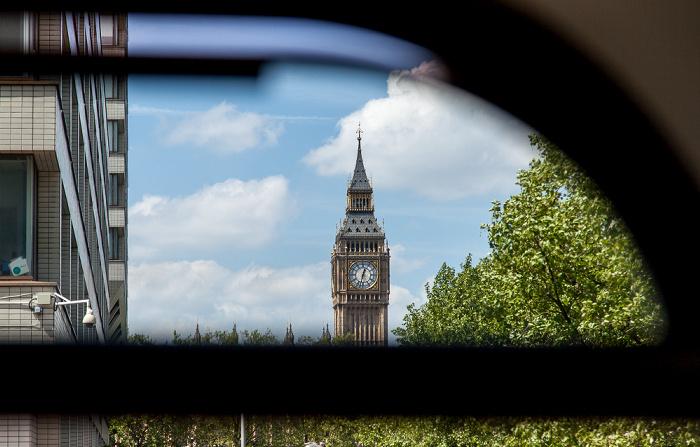 Lambeth: Lambeth Palace Road - Blick auf Big Ben London