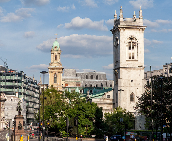 City of London: City Temple (links), St Andrew (Holborn) London