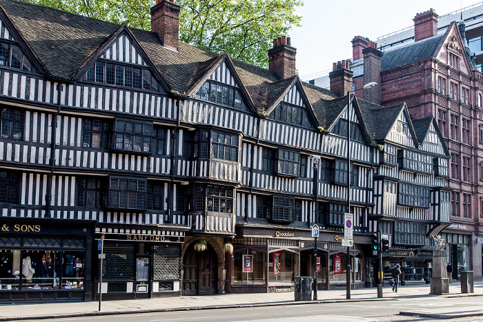 City of London: High Holborn - Staple Inn London