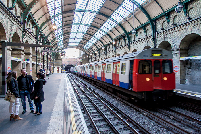 London Notting Hill Gate Tube Station