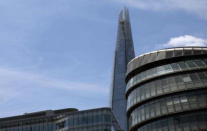 Southwark: More London (vorne) und The Shard London