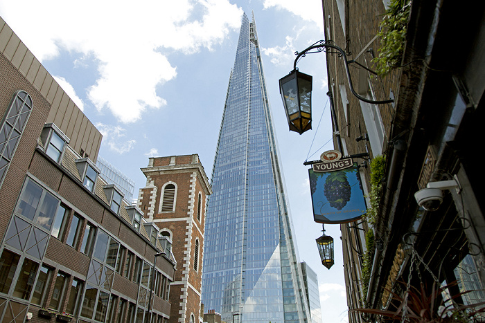 London Bankside: St Thomas Street, The Shard