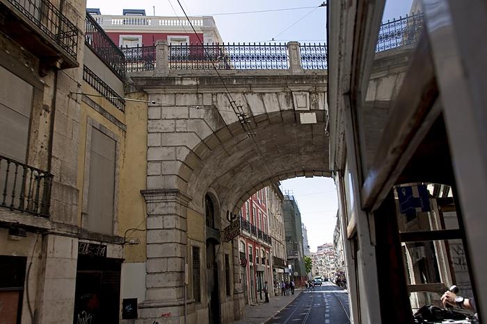 Eléctrico 25: Rua de São Paulo Lissabon