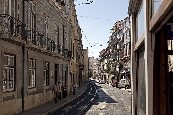 Eléctrico 25: Rua da Boavista Lissabon