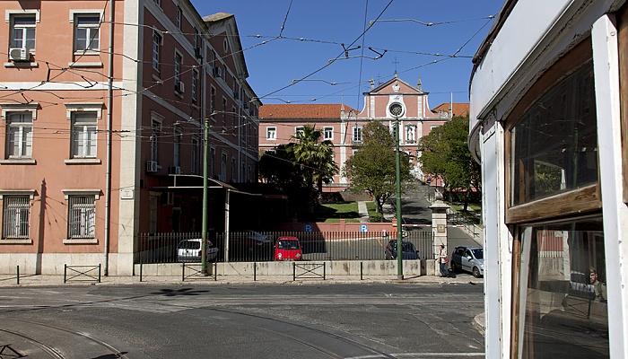 Eléctrico 25: Praça da Estrela / Calçada da Estrela / Rua João de Deus Lissabon
