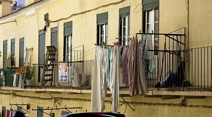 Eléctrico 25: Rua Domingos Sequeira Lissabon