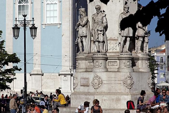 Lissabon Eléctrico 28: Praça Luís de Camões - Luís de Camões-Denkmal Praça Luis de Camoes
