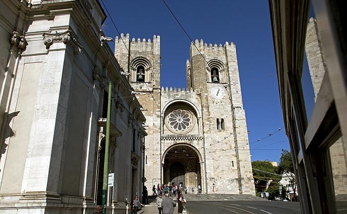 Lissabon Eléctrico 28: Largo Sé - Sé Patriarcal Igreja de Santo António de Lisboa Se Patriarcal