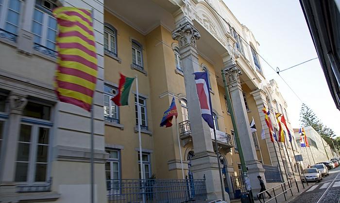 Eléctrico 28: Rua Voz do Operário - A Voz do Operário Lissabon