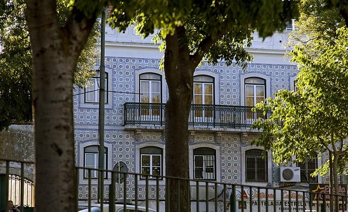 Eléctrico 28: Largo da Graça Lissabon