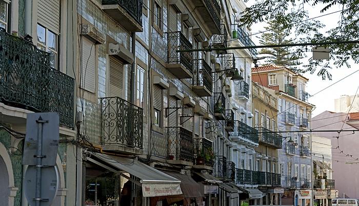 Eléctrico 28: Rua da Graça Lissabon