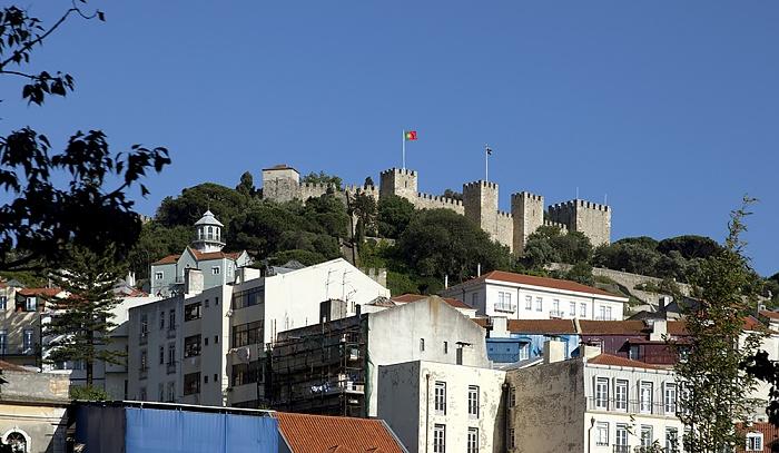Eléctrico 28: Largo do Martim Moniz Lissabon