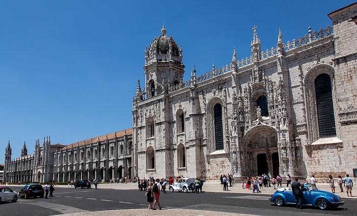 Belém: Mosteiro dos Jerónimos Lissabon 2013