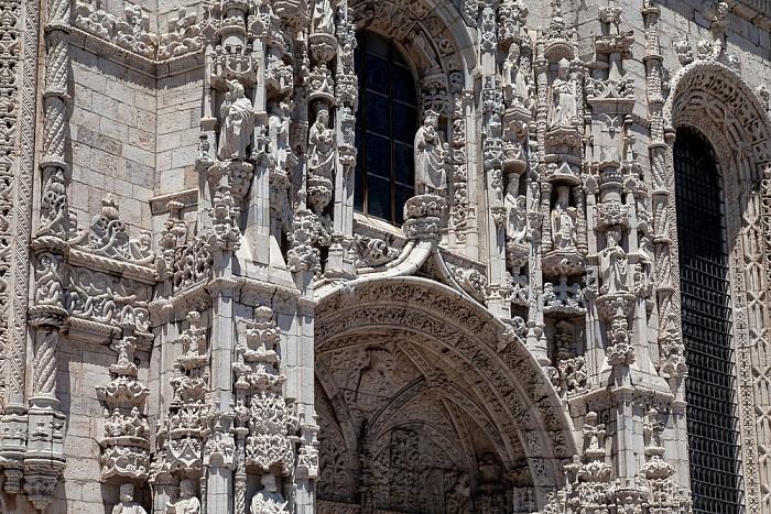 Belém: Mosteiro dos Jerónimos - Südportal Lissabon