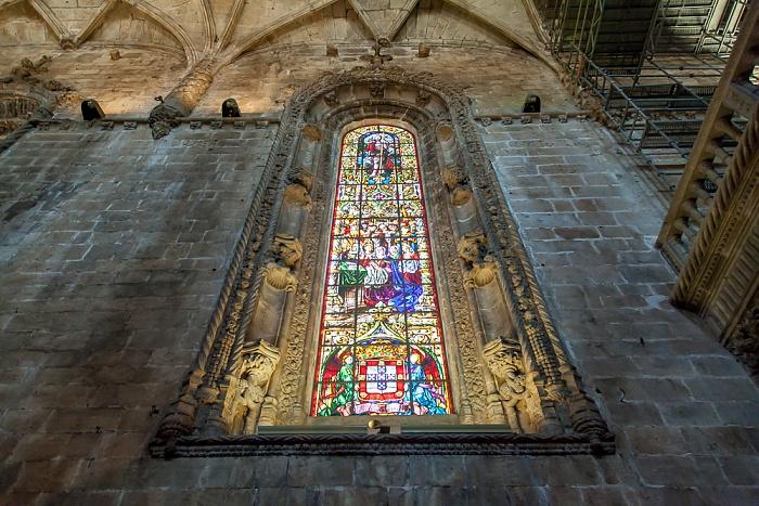 Belém: Mosteiro dos Jerónimos - Igreja Santa Maria Belém Lissabon