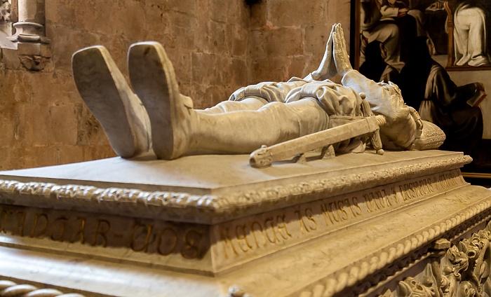 Belém: Mosteiro dos Jerónimos - Igreja Santa Maria Belém: Grabmal von Luís de Camões Lissabon