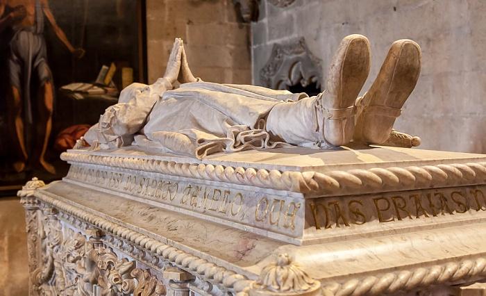 Belém: Mosteiro dos Jerónimos - Igreja Santa Maria Belém: Grabmal von Vasco da Gama Lissabon