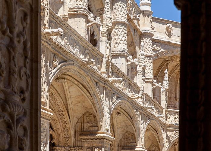 Belém: Mosteiro dos Jerónimos - Kreuzgang Lissabon 2013