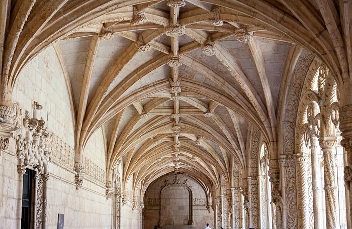 Lissabon Belém: Mosteiro dos Jerónimos - Kreuzgang