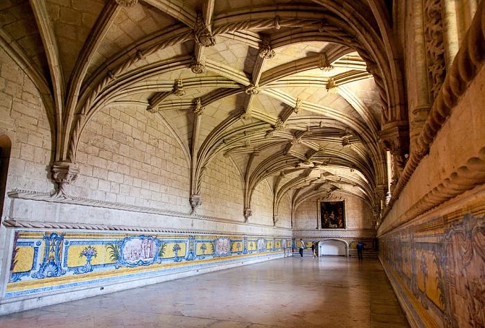 Lissabon Belém: Mosteiro dos Jerónimos - Refektorium