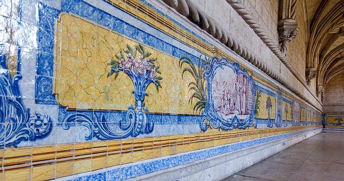 Belém: Mosteiro dos Jerónimos - Refektorium Lissabon