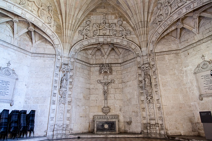 Belém: Mosteiro dos Jerónimos - Kapitelsaal Lissabon