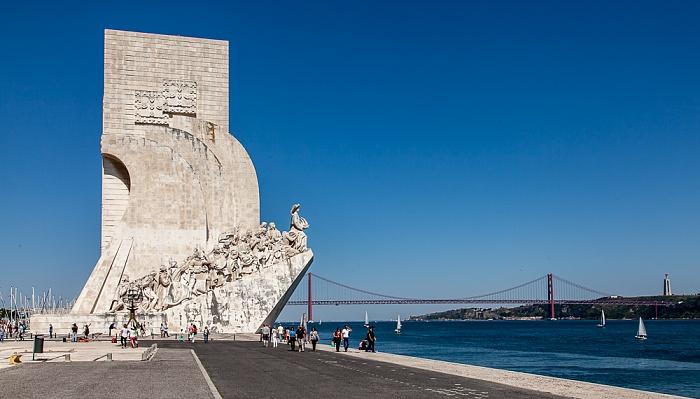 Lissabon Belém: Padrão dos Descobrimentos, Tejo Ponte 25 de Abril