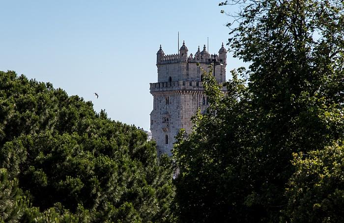 Lissabon Belém: Jardim da Torre de Belém, Torre de Belém