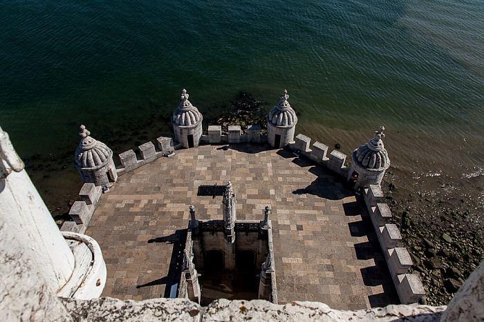 Lissabon Belém: Torre de Belém, Tejo