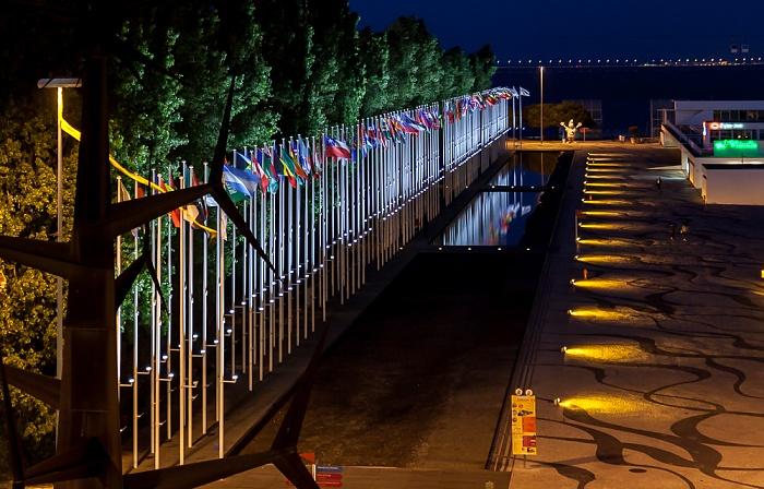 Lissabon Blick aus dem Centro Vasco da Gama: Parque das Nações EXPO '98